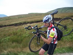 Paul Andrews on the 3 Peaks