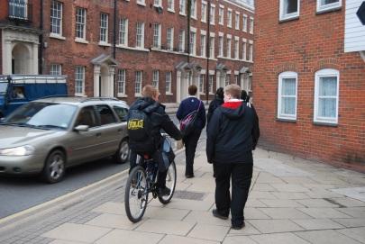 Pavement cycling