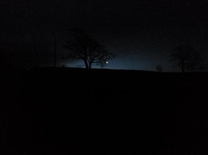 Before dawn