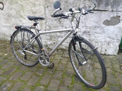 Family-friendly utility bike