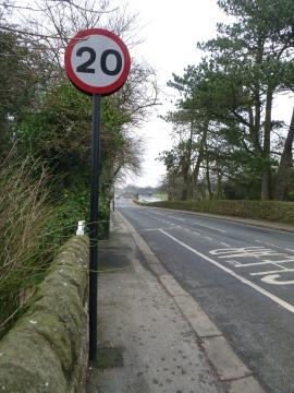 20 mph?