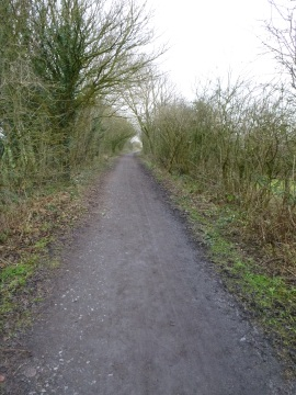 Cycle track to Glasson Dock
