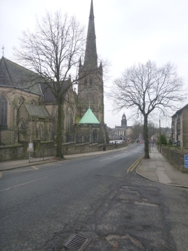 Lancaster Cathedral and Town Hall