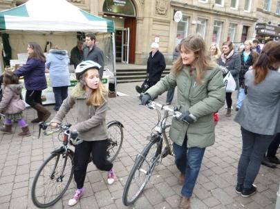 Bikes at the city's heart