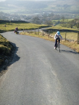 Climbing out of Langcliffe