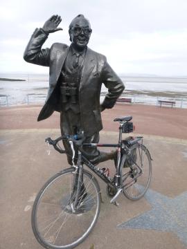 On yer bike Eric!
