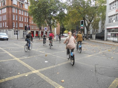 (Integrated) cycling in London 2011