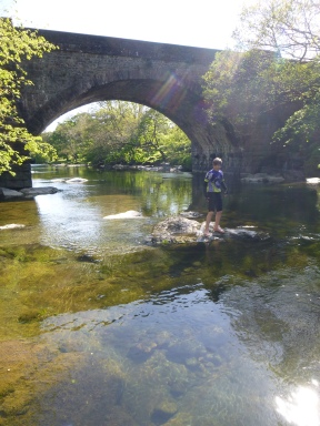 Bobby in the River Lune