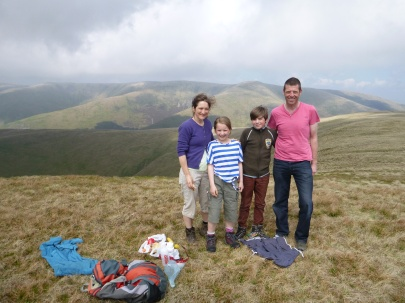On Arant Haw, the Howgills
