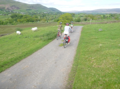Dropping down to Sedbergh