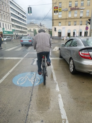 Vienna bike lane