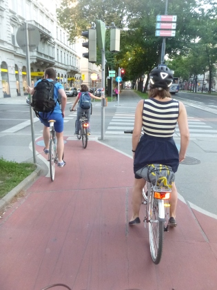 Central city cycle circle