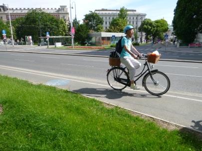 Vienna cyclist