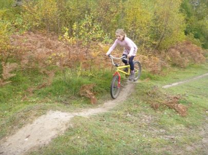 Flo BMXing in Silverdale