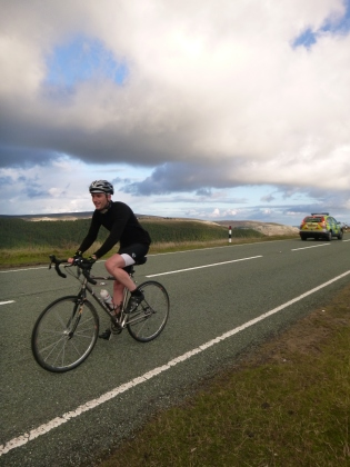 Tim on Horseshoe Pass