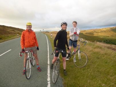 Cosmin, Tim & Peter on Horseshoe Pass